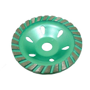 Diamond segment grinding wheel turbo - 4""