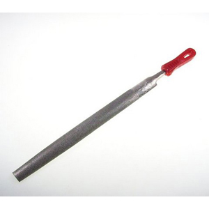 Diamond coated file half round - 12""