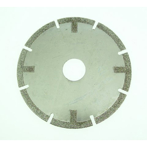 Diamond coated cutting disc - 4""