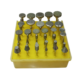 Diamond point set various sizes - 50 pcs set
