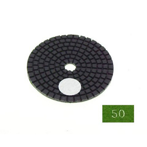 "Diamond flexible polishing pad -3"" #50 wet"
