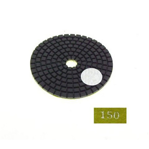 "Diamond flexible polishing pad -3"" #150 wet"