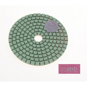 "Diamond flexible polishing pad -3"" #8000 wet"