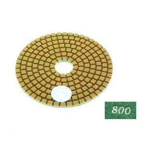 "Diamond flexible polishing pad -4"" #800 wet"
