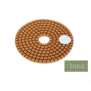 "Diamond flexible polishing pad -4"" #1000 wet"