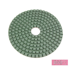 "Diamond flexible polishing pad -4"" #8000 wet"