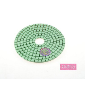 "Diamond flexible polishing pad -4"" #15000 wet"