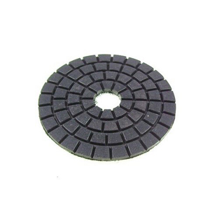 "Diamond flexible polishing pad final buff - 4 "" black"