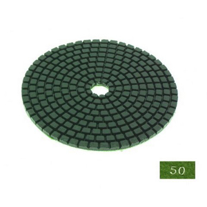 "Diamond flexible polishing pad -4"" #50 dry"