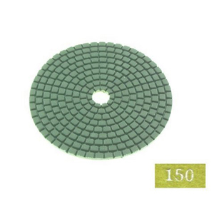 "Diamond flexible polishing pad -4"" #150 dry"