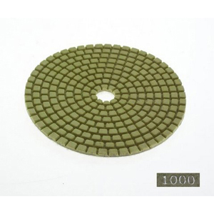 "Diamond flexible polishing pad -4"" #1000 dry"