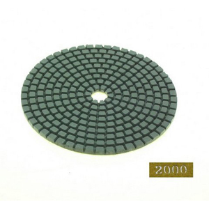 "Diamond flexible polishing pad -4"" #2000 dry"
