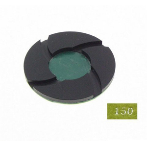 "Diamond polishing pad 6mm thickness -4"" #150 wet"