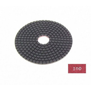 "Diamond flexible polishing pad -5"" #100 wet"