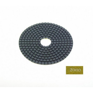 "Diamond flexible polishing pad -5"" 2000# wet"
