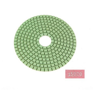 "Diamond flexible polishing pad -5"" 15000# wet"