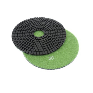 "Diamond flexible polishing pad -6"" 30# wet"