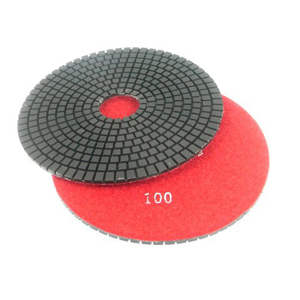 "Diamond flexible polishing pad -7"" #50 wet"
