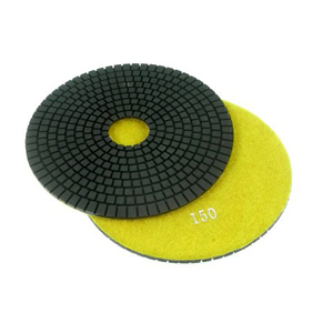 "Diamond flexible polishing pad -7"" #100 wet"
