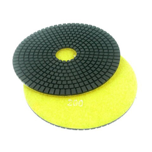 "Diamond flexible polishing pad -7"" #150 wet"
