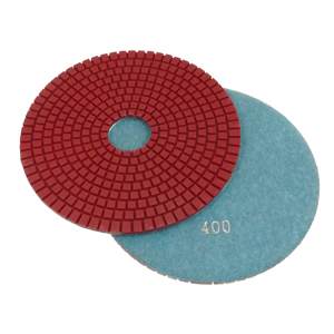 "Diamond flexible polishing pad -7"" #300 wet"
