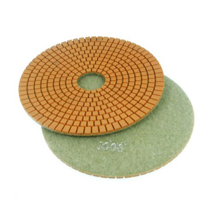 "Diamond flexible polishing pad -7"" #1500 wet"