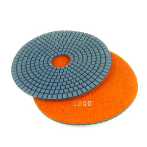 "Diamond flexible polishing pad -7"" #2000 wet"