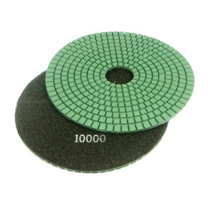 "Diamond flexible polishing pad -6"" 10000# wet"