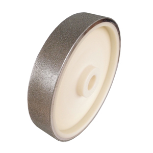"Diamond coated wheel plastic center - 8"" x 1-1/2"" #400"