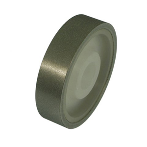 "Diamond coated grinding wheel plastic center - 4"" X 1"" 400#"