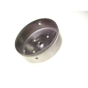 Diamond coated hole saw - 100mm