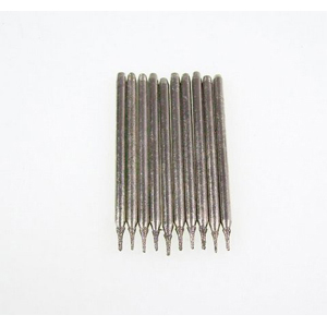 Diamond coated drill bits 10 pcs - 0.6x3mm