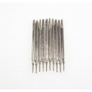 Diamond coated drill bits 10 pcs - 0.7x5mm