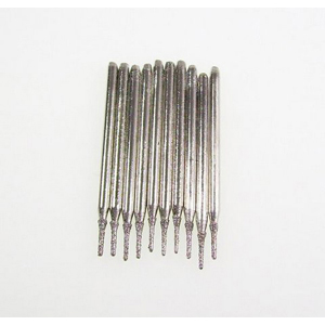 Diamond coated drill bits 10 pcs - 0.8x5mm