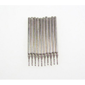 Diamond coated drill bits 10 pcs - 0.9x5mm