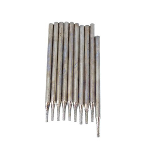 Diamond coated drill bits 10 pcs - 1x5mm