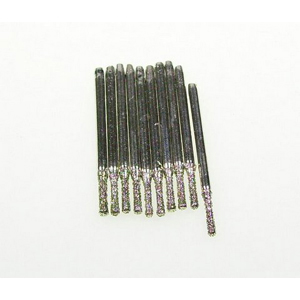 Diamond coated drill bits 10 pcs - 1.4x8mm