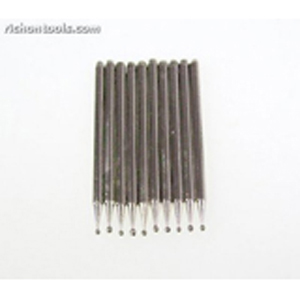 Diamond coated points sphere 10 pcs - 1.5mm 240#