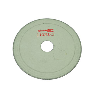 "Diamond rim coated cutting blade - 4"" x 0.2mm"
