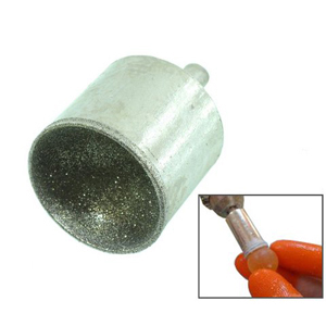 Diamond coated sphere forming bit - 30mm