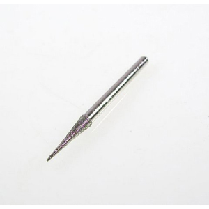 Diamond coated burr cone - 3x15mm