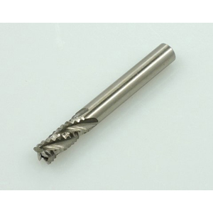 HSS roughing end mill 4 flute - 8mm