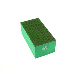 Diamond resin bond polishing hand pad grid pattern - 50#