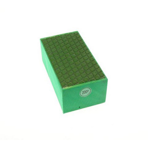 Diamond resin bond polishing hand pad grid pattern - #200
