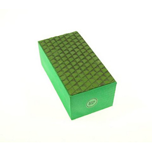 Diamond resin bond polishing hand pad grid pattern - #800