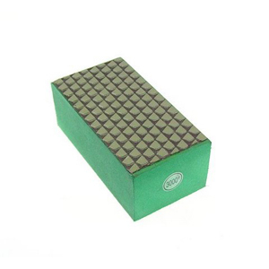 Diamond resin bond polishing hand pad grid pattern - 3000#