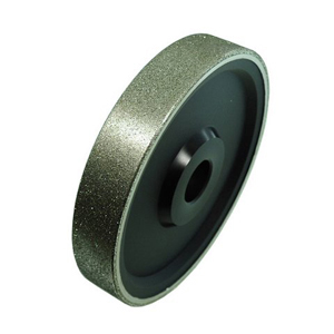 "Diamond coated grinding wheel plastic core - 8"" X 1-1/2"" 180#"