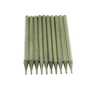 Diamond coated drill bits 10 pcs - 0.6mm