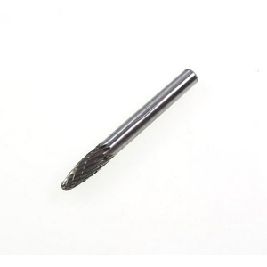 Carbide burr arc with round head - 6x18mm