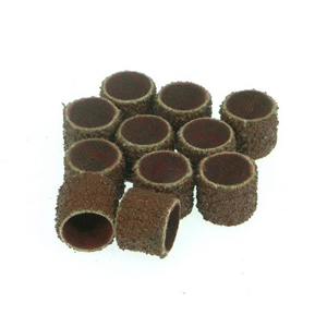 "Sanding bands 1/2""x1/2"" 10 pcs - 40#"